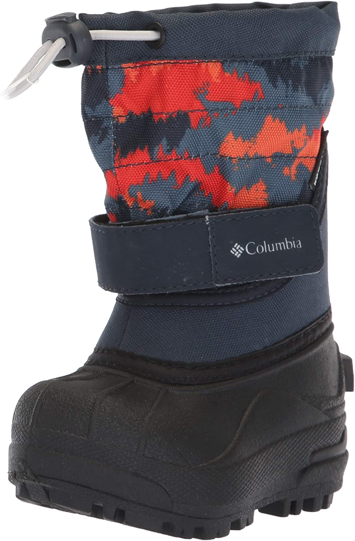 Columbia Unisex-Child Toddler Powderbug Plus II Print Snow Boot