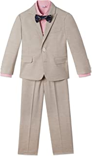 Calvin Klein Boys' 4-Piece Formal Suit Set
