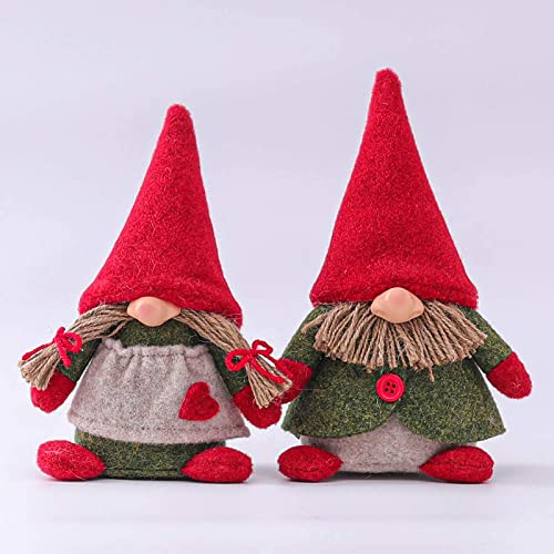 new arrival Valentines Day Gnome Toy Gift for Women Girls Teens Tomte Nordic Swedish Scandinavian Dwarf Home Decor Spring Easter Valentines Day popular Collectible Figurine 2021 Set of 2 Mr and Mrs Gnomes online sale