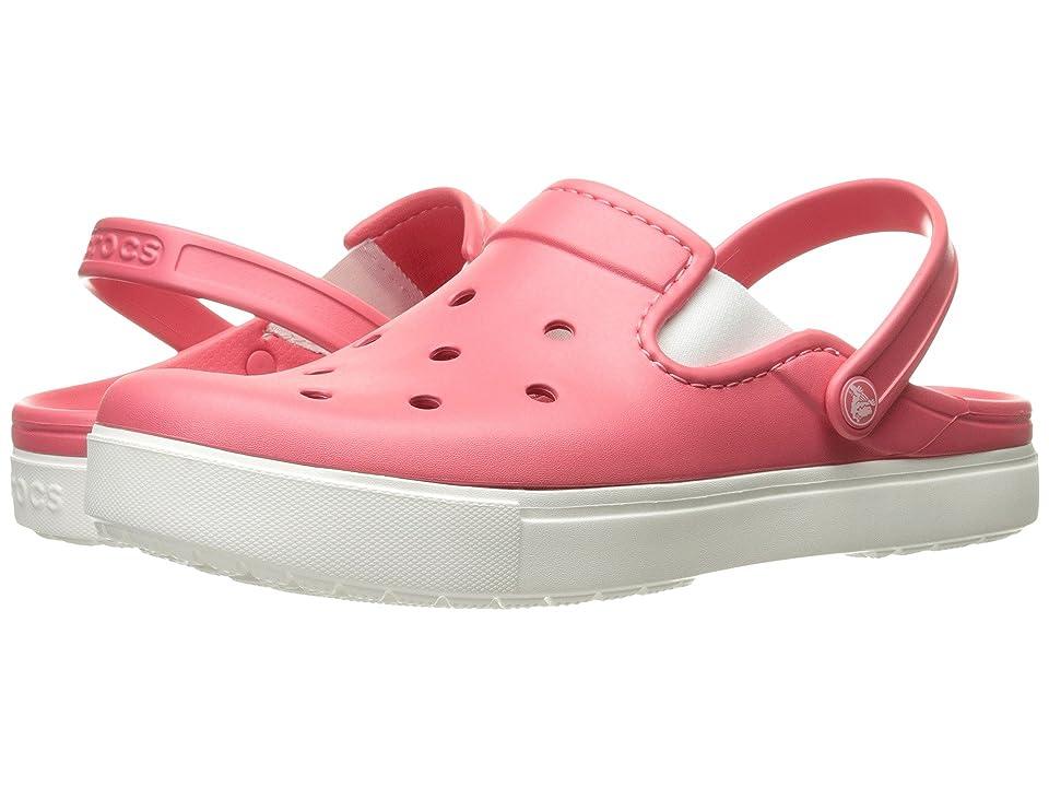 Crocs CitiLane Clog (Coral/White) Clog Shoes