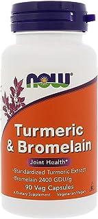 Now Foods, Turmeric & Bromelain, 90 Veg Capsules
