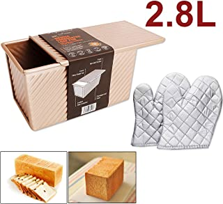 Sartén rectangular antiadherente, Cake Pizza Pan, Baking Pan, Molde pan tostado mejor para el hogar / Bakinghouse / Hotel Etc.