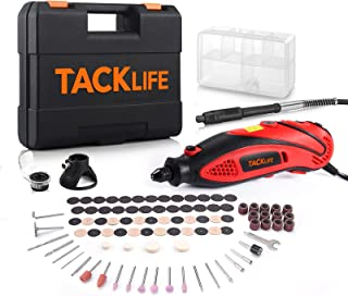 TACKLIFE Rotary Tool Kit with MultiPro Keyless Chuck and Flex Shaft, Versatile Accessories, 4...