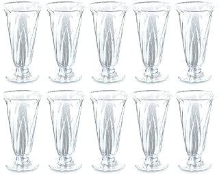 旭化成パックス 使い捨て 多機能 プラカップ 10個 (パフェ デザートカップ ワイングラス シャンパングラス) MNY-375