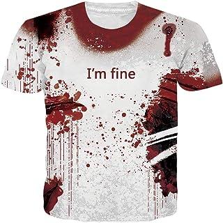 99079b37ff61c NEWISTAR Unisexe 3D imprimé T-Shirts pour Homme Femme