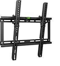 Tilt TV Wall Mount Bracket for 23-54 Inch Samsung Sony Vizio LG Sharp LED LCD OLED QLED Plasma Flat Curved Screen TVs, VESA 400x400mm 154lbs Capacity, Fits 16