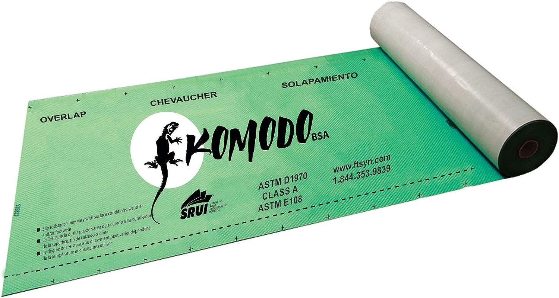 Now on sale FT Synthetics Bargain Komodo Butyl Self Adhered Underlayment Single Rol