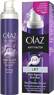 Olaz Antiarrugas - Crema de Día 2 en 1 acción anti-envejecimiento y serum reafirmante 30ml