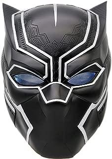 Xcoser Black Panther Mask Helmet Props for Adult Halloween Costume