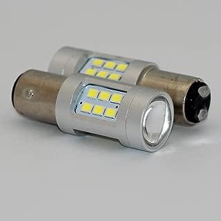 2pcs 20w Super Bright Projector Style Reflecting 21-SMD LED Light Bulbs 1157 Car Turn Signal Brake Tail Parking Daytime Running Side Light Bulb 1157 BA15D L167