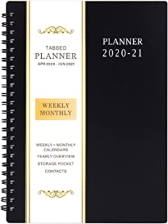 "2020-2021 Planner – Academic Weekly & Monthly Planner, 6.25"" x 8.3"",.."