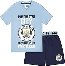 Manchester City FC Official Soccer Gift Boys Short Pajamas