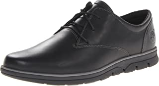 Timberland Men's Bradstreet Plain Toe Oxford,Black,10 M US