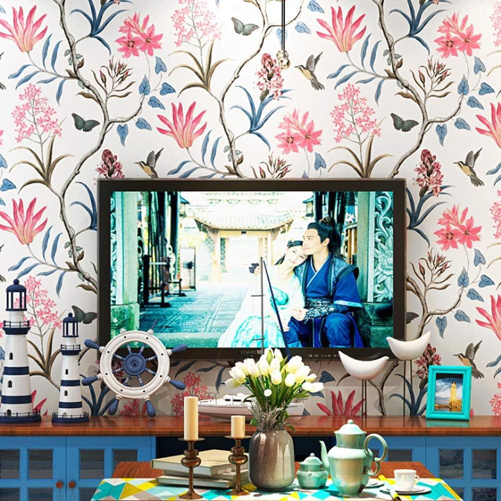 DAWEI Mediterranean Non-Woven Wallpaper P Fresh Very popular! 5 popular Country American