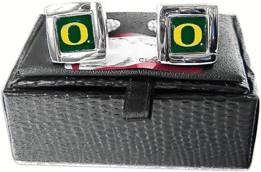 Aminco Oregon Ducks Square Cufflinks Gift Box Set