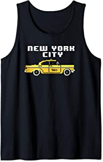 NYC Checker Cab 8-Bit For New York Lovers Tank Top