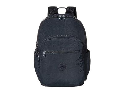Kipling Seoul Laptop Backpack (Blue/Blue) Backpack Bags