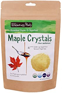 Wilderness Poets, Organic Maple Sugar Crystals (8 Ounce)