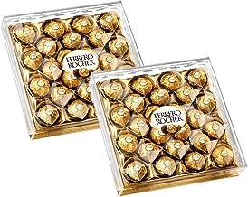 Ferrero Rocher Chocolate 24 Pieces (Pack of 2)