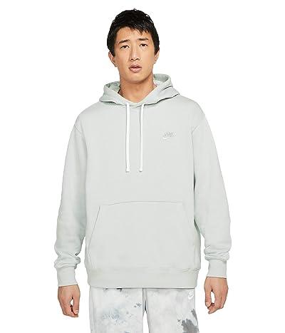 Nike NSW Club Hoodie Pullover (Grey Fog/White/Grey Fog) Men