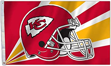 RongJ- store NFL 3-Foot by 5-Foot Banner Champion Flag (Kansas City Chiefs)