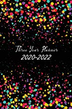 Three Year Planner 2020-2022: Colorful Circle Cover | 3 Year Monthly Planner 2020-2022 | 36 Month Calendar Pocket Planner Diary for Next Three Years | ... Holiday, 3 Year Monthly Planner 2020-2022)