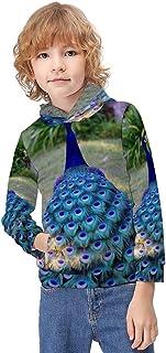 Kid's Novelty Sweater Italian American Thin Line Flag Hooded Hoodies Unisex Boys Girls Pullover Sweatshirt-