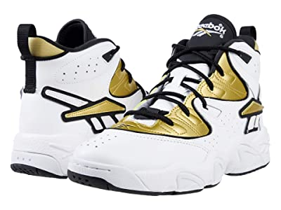 Reebok Lifestyle Avant Guard (White/Gold/Black) Athletic Shoes