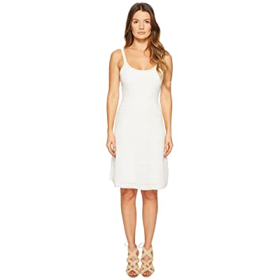 M Missoni Rib Stitch Tank Dress (White) Women