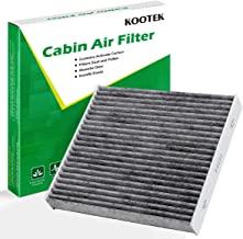 Kootek Cabin Air Filter with Activated Carbon, 1 Pack Replacement for Toyota /CF10285/CP285/TCF285/Lexus/Scion/Land Rover/Pontiac
