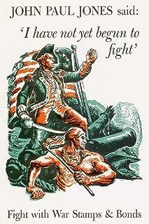I Have Not Yet Begun to Fight WPA War Propaganda Cool Wall Decor Art Print Poster 24x36