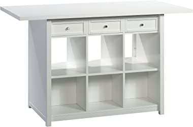 Sauder Craft Pro Series Work Table, White finish