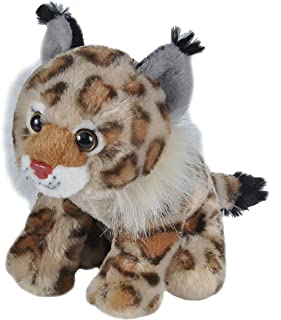 Wild Republic Bobcat Plush, Stuffed Animal, Plush Toy, Gifts for Kids, Cuddlekins, 8 Inches