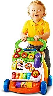 Vtech 伟易达 学步车手推车助步车婴儿调速?#35780;?#29609;具1岁宝宝