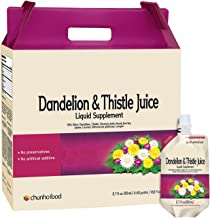 Chunho Food Dandelion & Thistle Juice Liquid Supplement. Helps Improve Liver Health, Enhance Immunity. No Preservatives and Artificial Additives. …