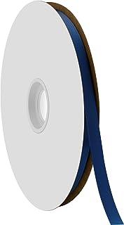 """Offray Berwick 3/8"""" Single Face Satin Ribbon, Light Navy Blue, 100 Yds"""