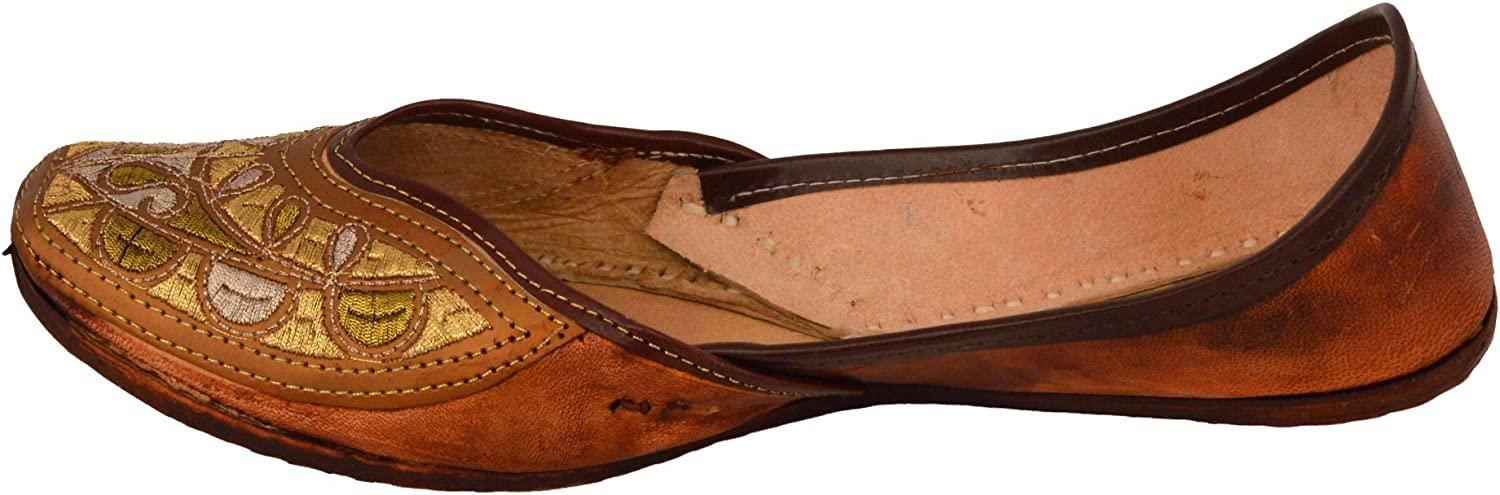 Handcrafted Women's Artisan Indian Slippers Womens Flat shoes
