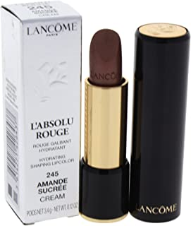 Lancome L'absolu Rouge Hydrating Shaping Lipcolor, Amande Sucree, 0.12 Ounce