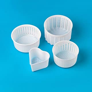Cheesemaking Molds Set 4 pcs Cheesemaking Cow Goat Rennet Cheese making Cheese mold Cheese utensils Cheese cooking Cheese kitchen Tools Cheese making supplies from the manufacturer Cooking Cheese