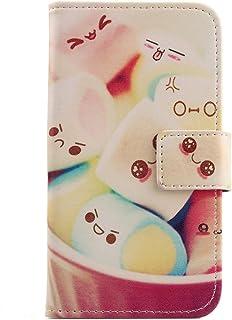 "Lankashi Pattern PU Leather Wallet Flip Cover Skin Protection Case for Easyfone Prime A5 1.8"" (Lovely Design)"