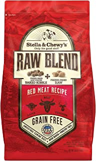 Stella & Chewy'S Raw Blend Red Meat Dog Food 10Lb
