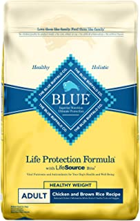 Blue Buffalo Life Protection Formula Healthy Weight Dog Food – Natural Dry Dog Food for..
