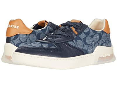 COACH CitySole Court Sneaker (Chambray) Women