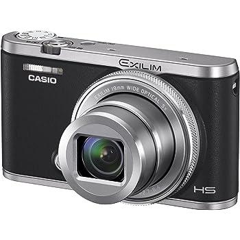 CASIO デジタルカメラ EXILIM EX-ZR4000BK 超広角19mm アニメーション動画を作れる「ワイドビューフォト」 EXZR4000 ブラック