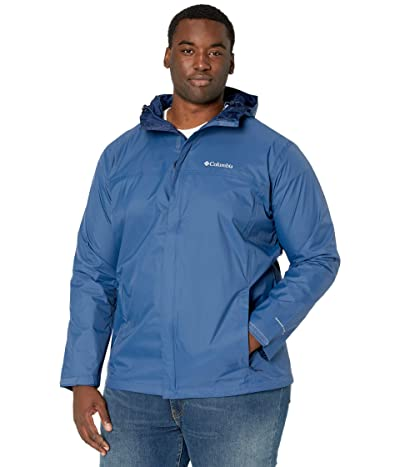 Columbia Big Tall Watertighttm II Jacket (Night Tide/Collegiate Navy) Men