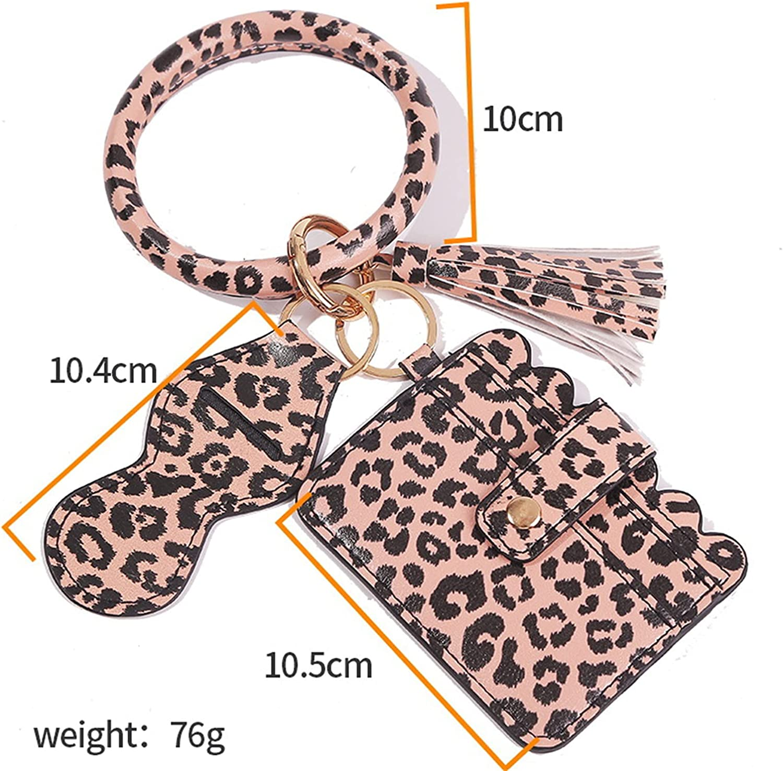 PU Leather Keychain For Women Accessories Tassel Bracelet Keyring For Keys Multicolor Keychain Man