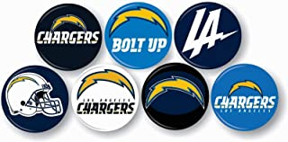 Los Angeles Chargers NFL Pin Pinback Vintage Button 1 .25 Collection Match On Jersey Sport Hat Decor Set
