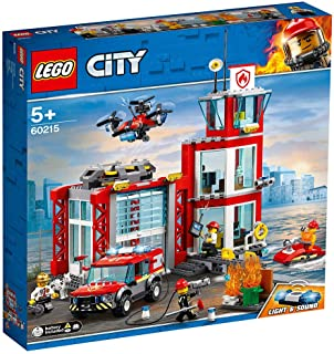 LEGO City Fire Fire Station for age 5+ years old 60215