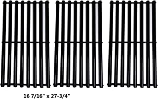 BBQration Porcelain Steel Cooking Grid Replacement for Backyard Grill BY13-101-001-12, BY14-101-001-099, Kenmore Models 146.1613211, 146.16132110, 146.16133110,Set of 3