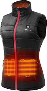 Women's Lightweight Heated Vest with Battery Pack